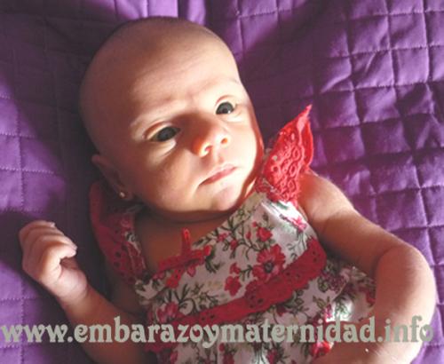 Cambios en la piel de los bebés recién nacidos