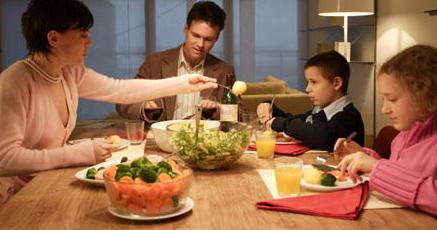 por que es importante cenar en familia