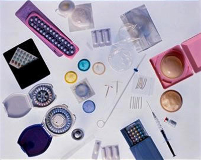 diferentes métodos anticonceptivos