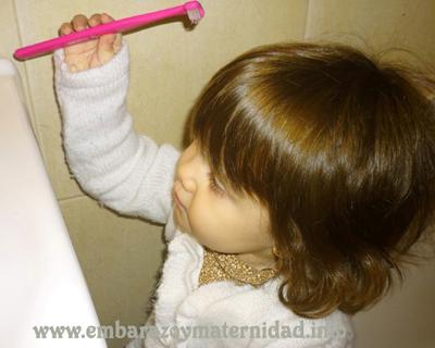 la importancia d euna buena higiene bucal en los niños