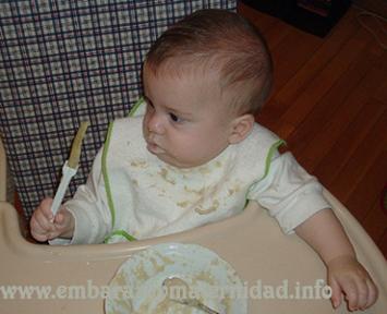 si el bebé no come hay que preocuparse o no