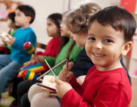 los niños y la educación musical