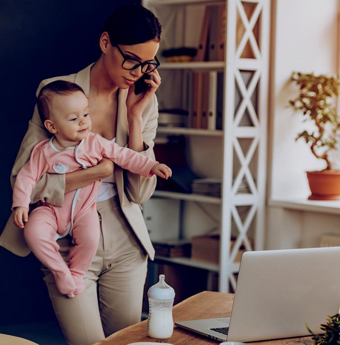 ¿Cómo puedo congeniar mi trabajo con mi rol de mamá?