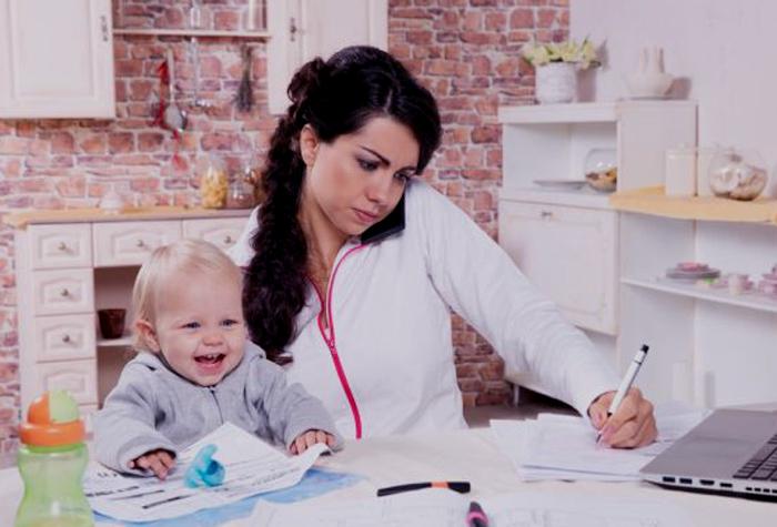 Combinar el trabajo con la crianza de los hijos es complicado
