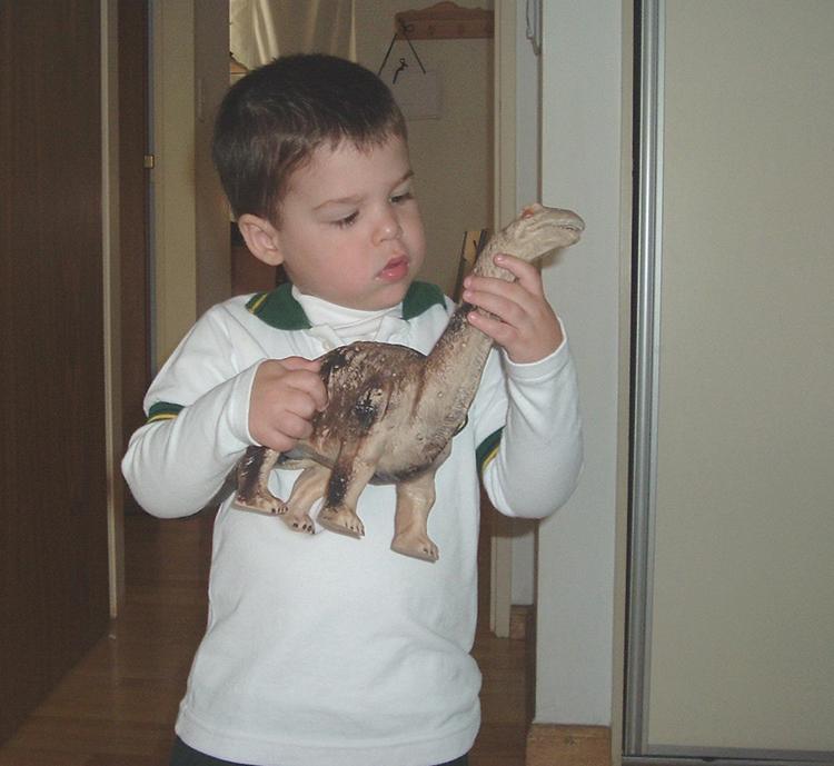 El desarrollo de los sentidos en niños de 2 años