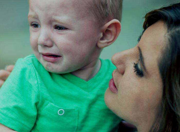 El llanto en la infancia